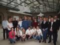 Gruppenbild Projektvertreter und Freiwillige USB