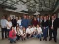 Gruppenbild Projektvertreter und USB freiwillige 2